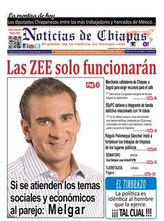 NOTICIAS DE CHIAPAS, EDICIÓN VIRTUAL; JUEVES  24  DE AGOSTO  DE 20164  Edición virtual de las PAGINAS Editoriales del Periódico Noticias de Chiapas