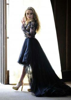 sabrina carpenter dress eyes wide open | Sabrina Carpenter – Shoots Her New Music Video 'Eyes Wide Open ...
