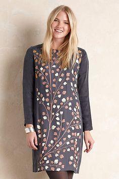 Blossom Branches Tunic Dress - anthropologie.com