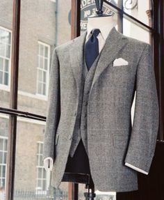 Single Breasted Three Button Jacket - Anderson and Sheppard, Savile Row