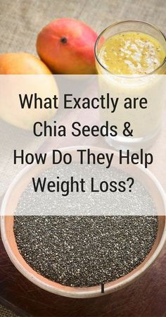 There are many healthy benefits of chia seeds. Many nutritionists suggest using chia seeds for weight loss as part of a balanced diet.
