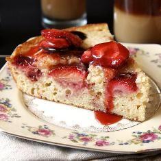 Roasted Strawberry Buttermilk Cake (via www.foodily.com/r/zJD6gV8a2-roasted-strawberry-buttermilk-cake-by-joy-the-baker)