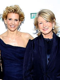 Martha Stewart and Alexis
