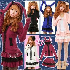 Ventage TYPE parka of the ★ extreme popularity that it is in the bloom of ribbon & race, and is super pretty!
