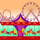 Amusement park Collection on Society6.