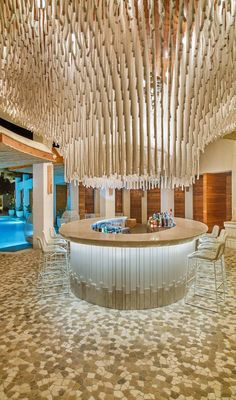 The Rope Bar at The Shore Club Turks & Caicos Istanbul Restaurants, Turks And Caicos Wedding, Beautiful Hotels, Amazing Hotels, Amazing Places, Beautiful Places, New York Vacation, Vacation Places, L Office