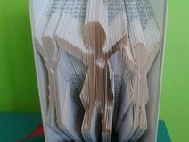 Buch Faltung - Bookfolding Familie