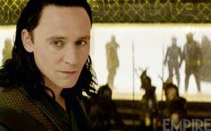 Tom Hiddleston es Loki vía Empire
