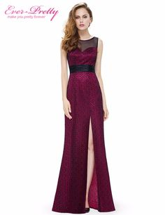 Evening Party Dresses Ever Pretty New Arrival EP08950 Glamorous O-Neck Sleeveless Dresses Evening Special Occasion Dresses  Price: 50.98 & FREE Shipping  #sale #discount #shop #2018