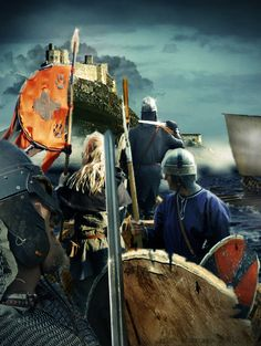 Race to the Lindisfarne by EgilSterkr on deviantART