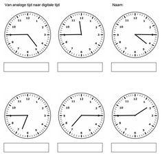 Je kunt kiezen uit geschreven tijd, analoge tijd en digitale tijd. Tevens heb je de mogelijkheid om te kiezen voor de minuten, vijf minuten, tien minuten, kwartier, half uur en hele uren.