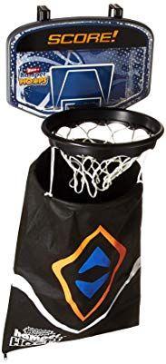 Wham O Hamper Hoops Over The Door Basketball Backboard Laundry Bag