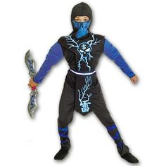 Lightning Ninja Costume now available at http://www.karatemart.com