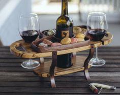 Portador de vino de madera caddy vino sostenedor por FineWineCaddy
