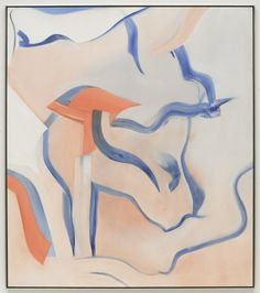 """oil on canvas, 80"""" x 70"""" (203.2 cm x 177.8 cm), © 1982, The Willem de Kooning Foundation/Artists Rights Society (ARS), New York / Photo by: Kerry Ryan McFate"""