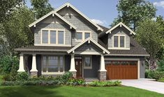 Perfect! Just make the game room into two more bedrooms House Plan 22199 -The Hood River