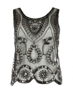 Embroidered Party Top