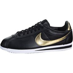 best loved bac57 b13d4 Nike Classic Cortez SE XLV 902801002 BlackGoldWhite Mens Leather Shoes 13     Details can be found by clicking on the image.