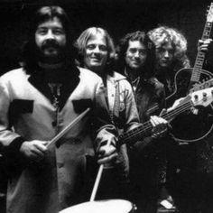 Jimmy Page, Robert Plant, John Bonham & John Paul Jones | Led Zeppelin. #LedZeppelin