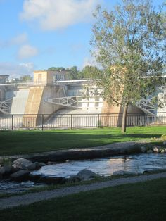 designed by Alvar Aalto, Finland. With fishway up to Oulujoki.