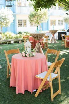 Wedding Navy, Gray Weddings, Wedding Themes, Wedding Decorations, Table Decorations, Coral Wedding Centerpieces, Postcard Inn, St Pete Beach, Color Of The Year