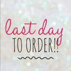 Orders will be going out tomorrow!!! Get yours in!! Call me to order at 496-9599 or shop 24/7 from my estore at www.youravon.com/tiffanypennington