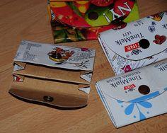 Hvordan lage en melkekartong-lommebok