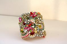 Doloris Petunia One of a Kind Custom Cuff  Sold by DolorisPetunia, $1000.00