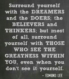 See greatness!