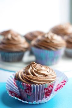 CHOCOLATE Cupcakes with Chocolate Cream Cheese Frosting http://thecupcakedailyblog.com/chocolate-cupcakes-with-chocolate-cream-cheese-frosting/ #cupcakerecipe #chocolate