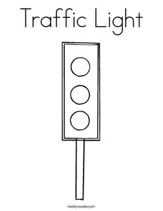 Weather Coloring Pages Printable Google Search Education Stop Light Coloring Sheet