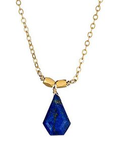I think every woman should have lapis stone in her jewelry box.