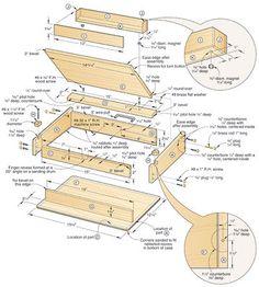 77 Best Lap Table Images Woodworking Drawing Desk Desk