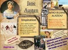 Jane Austen was an English novelist whose works of romantic fiction, set among the landed gentry, earned her a place as one of the most widely read writers in English literature. #glogster #glogpedia #janeausten