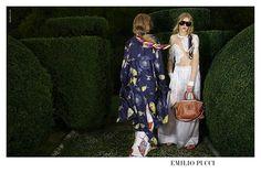 Emilio Pucci S/S 2016 : Odette Pavlova and Kadri Vahersalu photographed by Ezra Petronio