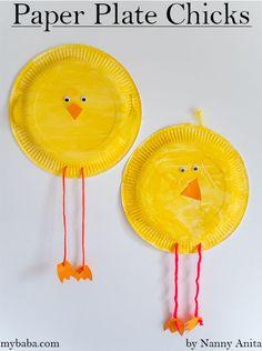 Paper Plate Chicks | Nanny Anita | My Baba