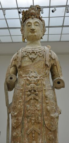 紐約大都會藝術博物館-中國館路稀世珍寶北齊至隋代巨型觀音像
