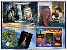 "6-15 Please follow Vicki-Ann Bush, author of ""The Dusk Chronicles"" on Instagram @vickiannbush #AromasAuthors #VickiAnnBush @vickiannbush Thank you so very much ;) Have a great day…"