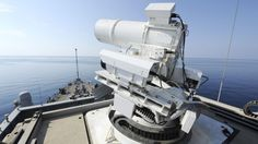 A frickin laser deployed by the US NAVY.