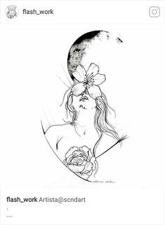 - paint and art Mini Tattoos, Body Art Tattoos, Small Tattoos, Tattoo Drawings, Art Drawings, Tattoo Minimaliste, Future Tattoos, Art Design, Doodle Art