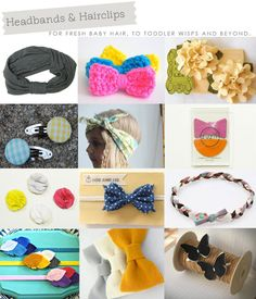 Headbands & Hairclips for baby, toddler and beyond! | Hellobee