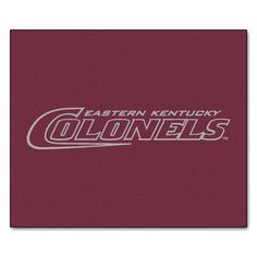 Collegiate Eastern Kentucky Tailgater Outdoor Area Rug
