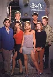 Buffy the Vampire Slayer. I haven't actually seen these new vampire shows and movies, but I know they can't even compare to what Joss Whedon created. Sarah Michelle Gellar, Jeremy Sisto, Charisma Carpenter, Buffy Summers, David Boreanaz, Michelle Trachtenberg, Marc Blucas, Alyson Hannigan, Buffy Im Bann Der Dämonen