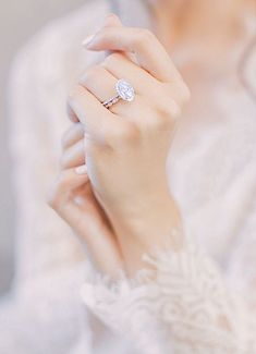 wedding rings oval Oval Halo Diamond Engagement Ring of her dreams and wedding ring by Ascot Diamonds. Stacked Wedding Rings, Wedding Rings Simple, Wedding Rings Solitaire, Beautiful Wedding Rings, Wedding Rings Vintage, Bridal Rings, Wedding Jewelry, Beautiful Dream, Dream Big