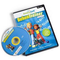 Deze RekenTrainer is onderdeel van de educatieve software van AmbraSoft, die door meer dan een miljoen kinderen op basisscholen gebruikt wordt.