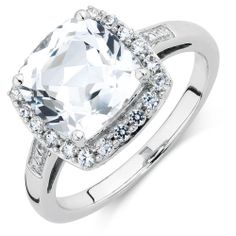 CREATED WHITE SAPPHIRE RING | Michael Hill