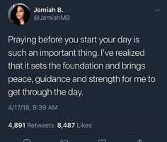 Feels like anytime I don't pray, I don't feel the Lord's guidance on my life Real Quotes, Fact Quotes, Quotes About God, Mood Quotes, Spiritual Quotes, Positive Quotes, Affirmations, Bible Verses Quotes, Scriptures