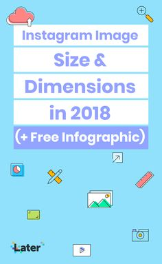 With the addition of Instagram Stories, IGTV, and Instagram Live, knowing how to optimize your photos and videos for each format can be tough.   To help you out, we put together this Instagram image size and dimensions guide. In it you'll find everything you need to optimize the size and aspect ratio of your photos and videos. 👌 Tips Instagram, Instagram Accounts, Instagram Story, Instagram Images, Instagram Posts, More Instagram Followers, Photo Dimensions, Free Infographic, Photos