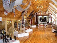 Ethnographic gallery. Dudutki museum