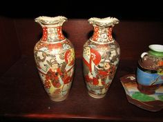 Chinese and Japanese porcelain and pottery including several pieces of Satsuma